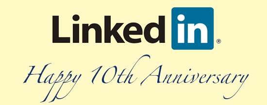 Linkedin 10 years of professional networking