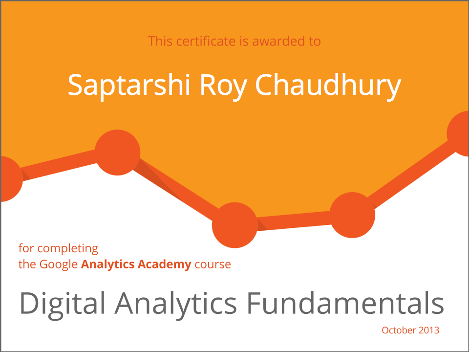 Google Analytics Certified Consultant