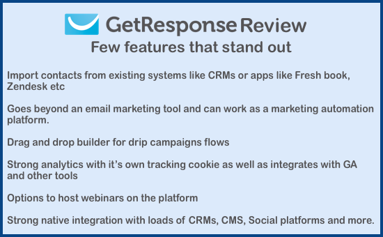 Ratings Reviews Getresponse Autoresponder